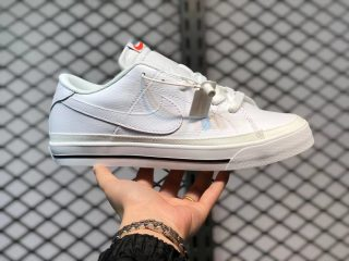 Nike Court Legacy Low White Skate Shoes For Sale CU4150-100