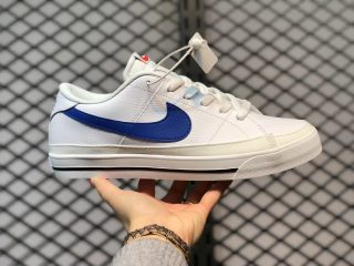 Nike Court Legacy White/Game Royal/Black For Sale CU4150-101