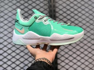 """2021 Nike PG 5 """"Play for the Future"""" Green Glow CW3143-300"""