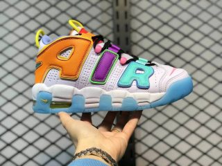 "Nike WMNS Air More Uptempo ""Mix-n-Match"" Multi-Color Sneakers DH0624-500"