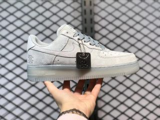Reigning Champ x Nike Air Force 1 Light Gray Sneakers AA1117-188