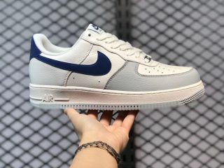 Nike Air Force 1 Low Cream White/Royal Blue For Sale CT5566-033