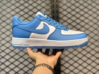 Nike Air Force 1 Low White Card Blue Casual Sport Shoes CT1989-441