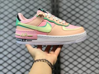 Nike Air Force 1 Shadow Arctic Punch/Barely Volt-Crimson Tint CU8591-601