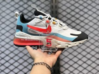 """Nike Air Max 270 React """"The Future is in the Air"""" White/Infrared-Summit White DD8498-161"""