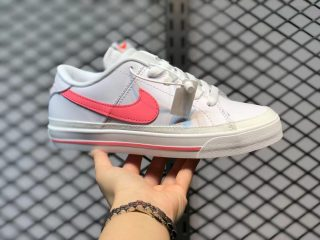 Nike Court Legacy Cloud White/Pink Skate Shoes To Buy DA5380-103