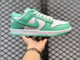 Nike Dunk Low WMNS White/Green Glow-White Best Sell DD1503-105