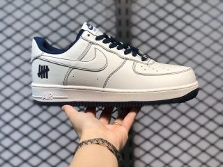 Nike Undefeated x Air Force 1 White Blue Black For Sale UN1315-800