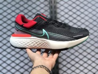 Nike ZoomX Invincible Run Flyknit Black/Chile Red/Green Glow CT2228-002