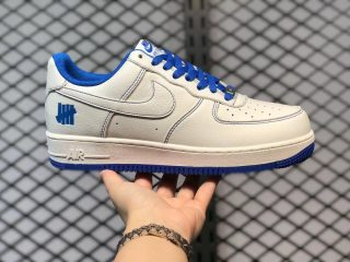 Undefeated x Nike Air Force 1 Low UN1570-680 Beige Royal Blue