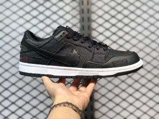 Wasted Youth x Nike SB Dunk Low Black Cheap Price DD8386-001