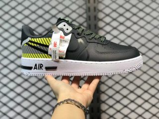3M x Nike Air Force 1 React D/MS/X Anthracite/Black-Volt-Habanero Red CT3316-003