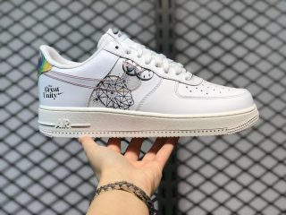 """Cheap Buy Nike Air Force 1 Low """"The Great Unity"""" Sneakers DM5447-111"""