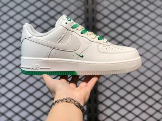 Discount Nike Air Force 1 Low '07 Beige Green Lifestyle Shoes BO6638-160