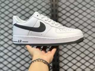 Nike Air Force 1 Low GS White/Obsidian/Iron Grey Sneakers DJ4617-100