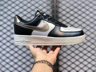 Nike Air Force 1 Low Metallic Cool Grey Lifestyle Shoes 849345-003