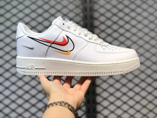 """Nike Air Force 1 Low """"Multi-Swoosh"""" Lifestyle Shoes For Buy DM9096-100"""