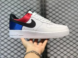 """Nike Air Force 1 Low """"Unite"""" White/Multi-Color Cheap Price CW7010-100"""