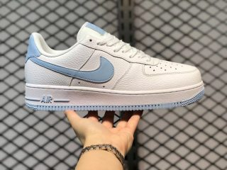 Hot Sale Nike Air Force 1 Low WMNS White/Light Armory Blue AH0287-104