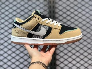 """Nike Dunk Low """"Rooted in Peace"""" Pale Vanilla/Sail-Black-Silver Pine DJ4671-294"""