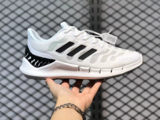 Adidas Climacool White Black Running Shoes Hot Sale FW1221