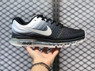 Nike Air Max 2017 Black White Sneakers Outlet Online 849559-010