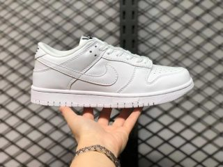 """Nike Dunk Low """"Triple White"""" Casual Sport Shoes On Sale DD1503-109"""