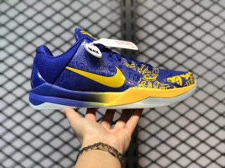Nike Kobe 5 Protro Concord/Midwest Gold Sneakers CD4991-400