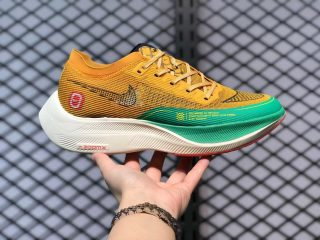 Nike ZoomX VaporFly NEXT% 2 Yellow/Green-Red Outlet Sale DJ5182-700