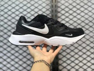 The Latest Nike Air Max Fusion Black/White Running Shoes CJ1670-002