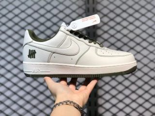 Undefeated x Nike Air Force 1 Low Beige Army Green On Sale UN1315-600