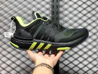 Adidas Equipment+ Black Volt Green Running Shoes H02756 For Sale