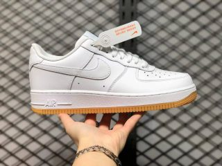 Nike Air Force 1 Low White/Gum-Light Brown Sneakers DJ2739-100 For Sale