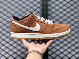 New Nike SB Dunk Low Pro ISO Dark Russet/Sail DH1319-200 Skate Shoes