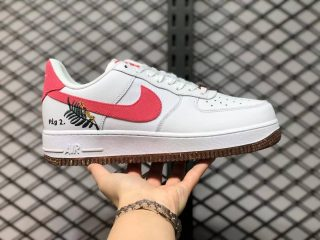 """Nike Air Force 1 Low """"Catechu"""" White/Light Sienna-White CZ0269-101"""