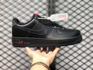 Nike Air Force 1 Low Reflective Black/Red DO6389-001 Outlet Sale