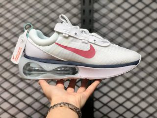 Nike Air Max 2021 White/Gym Red-Black DC9478-100 Newest Running Shoes