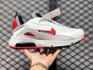 Nike Air Max 2090 White/Red Newest Sneakers DH7708-100
