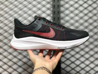Nike Air Zoom Winflo 8 Black/Chile Red Running Shoes CW3419-003