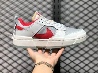 Nike Dunk Low Disrupt Summit White/Gym Red CK6654-101 Outlet Sale