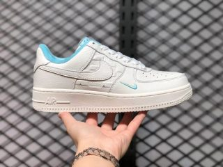 Nike Wmns Air Force 1 Low White Skyblue DC9556-100 Lifestyle Shoes