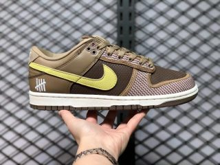 """Undefeated x Nike Dunk Low """"Dunk vs AF1"""" Canteen/Lemon Frost DH3061-200"""