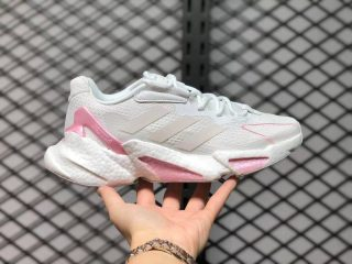 Adidas Boost X9000L4 White Pink Running Shoes GX3487 For Sale