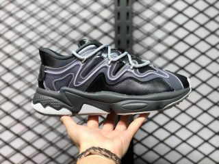 Adidas Ozweego 3.0 Black/Wolf Grey-Dust Purple Sneakers Outlet Sale G55588